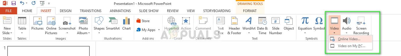 Einfügen von Videos in PowerPoint unter Windows 10