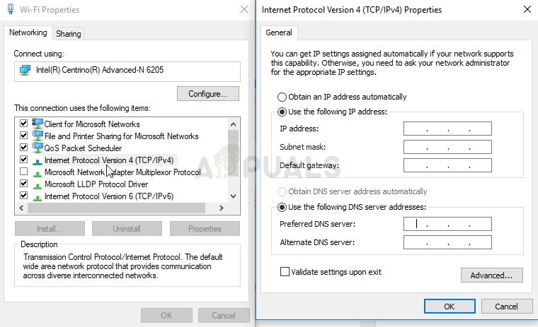 IPv4-Eigenschaften