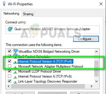 Internet Protocol IPv4 - Network properties