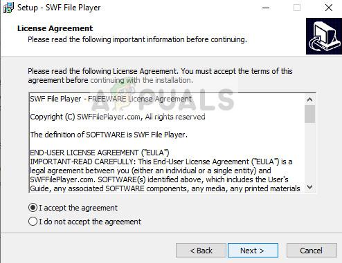 Installieren des SWF FIle Players - Windows 10