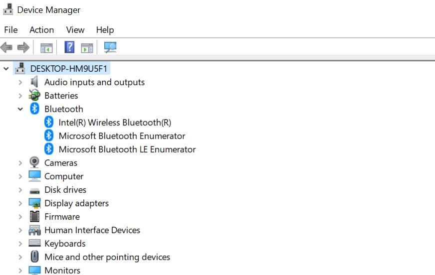 Bluetooth unter Windows 10