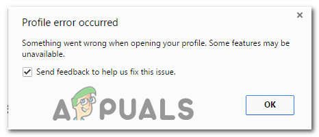 Profile Error
