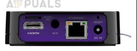 Connecting Roku with Ethernet to router