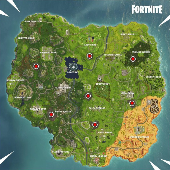 Fortnite Corrupted Zones