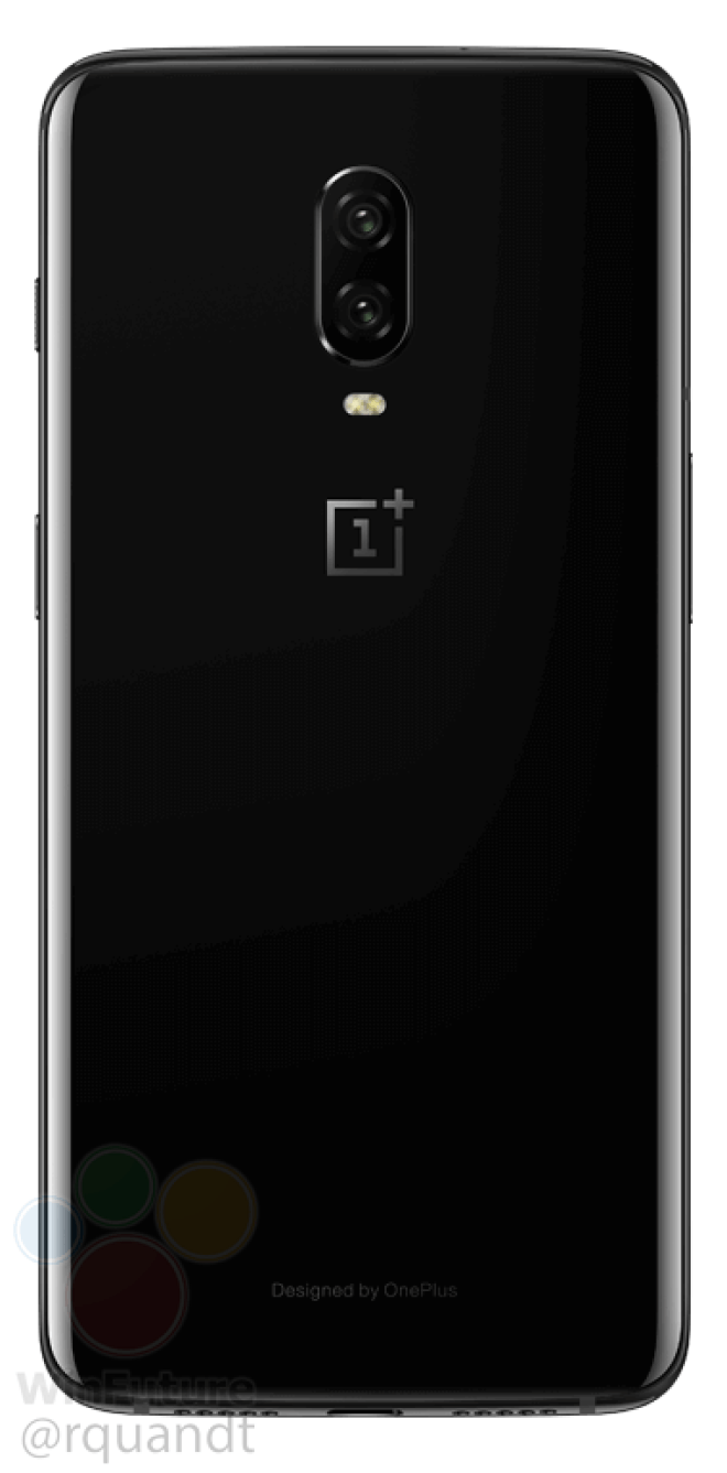 One Plus 6T back