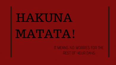 Photo of What Does Hakuna Matata Mean?