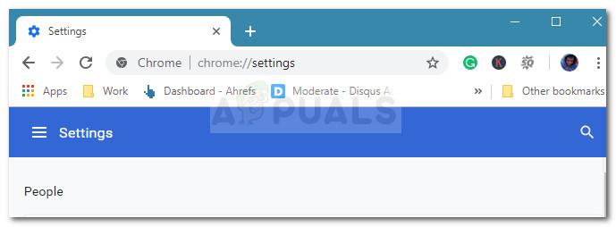 Zugriff auf die Chrome-Einstellungen