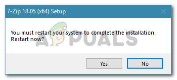 Starten Sie Ihren Computer neu