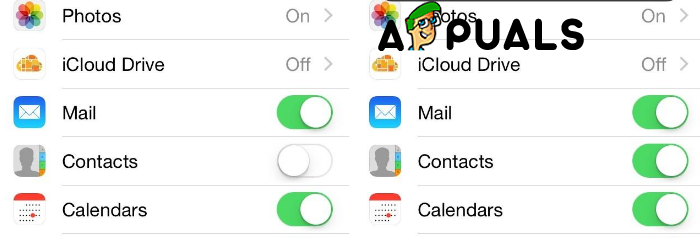 Contacts from iCloud