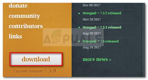 NotePad ++ herunterladen