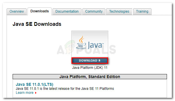 Downloading latest JDK