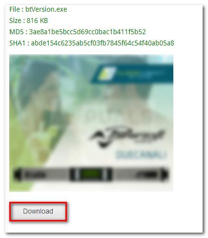 Herunterladen des Bluetooth Version Finder
