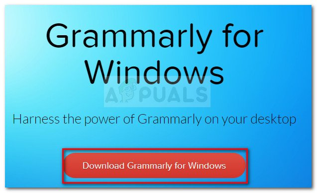 Downloading Grammarly for Windows
