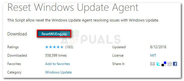 Download Windows Update Reset Agent