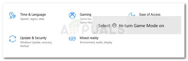 Run dialog: ms-settings:gaming-gamemode