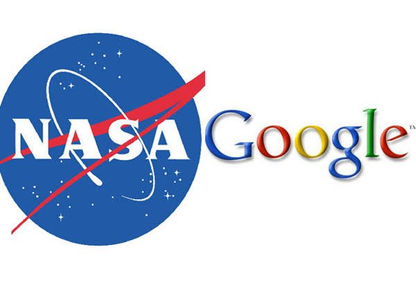Google and NASA Logo