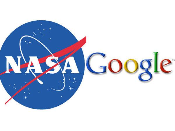 Google and NASA Logo