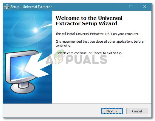 Universal Extractor installieren