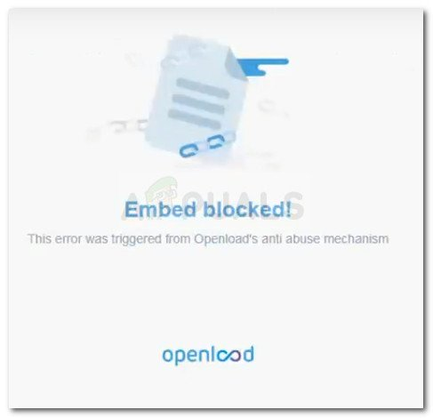 Embed blocked! This error was triggered from Openload's anti abuse mechanism