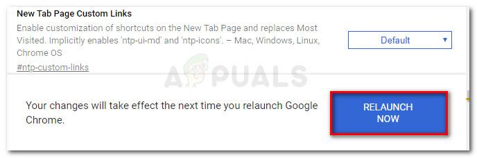 Starten Sie Google Chrome neu