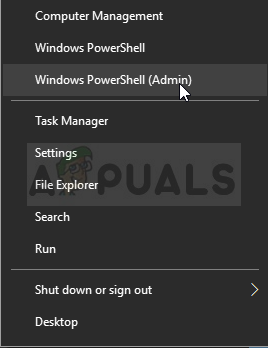 Running Windows PowerShell as an admin