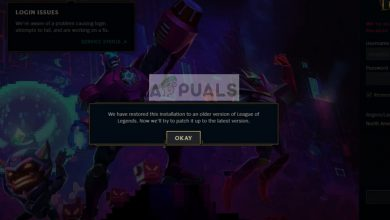 There was a problem patching League of Legends Loop on Windows 10