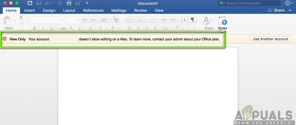 Fix: Account Doesn't Allow Editing on a Mac - Appuals com