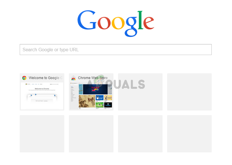 Google Chrome Most Visited Thumbnails Not Showing