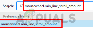 Type mousewheel.min_line_scroll_amount and select it