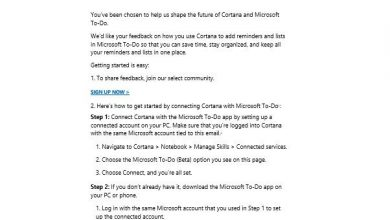 Photo of Cortana comes back to Microsoft To-Do, General Release Planned for December