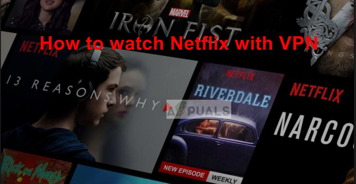 Streaming Netflix using VPN