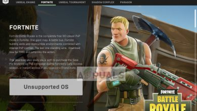 Fortnite Unsupported OS on 32-bit Windows