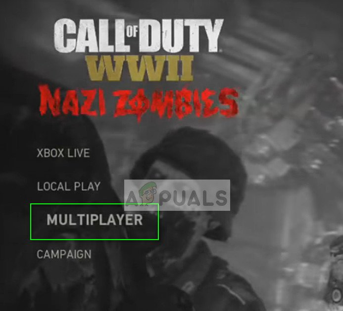 Switching back to Multiplayer - COD WW2 on PS4