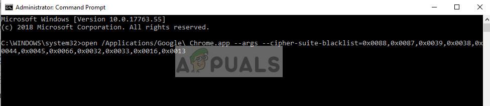 Deaktivieren von SSL3 in Google Chrome