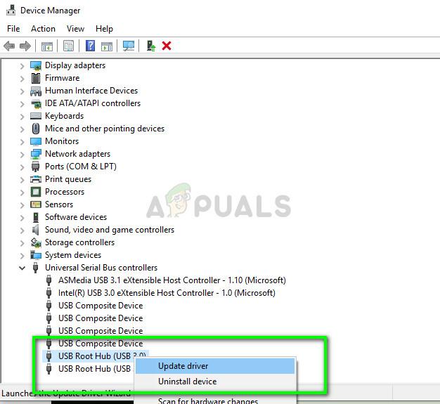 Aktualisieren von USB-Treibern - Geräte-Manager