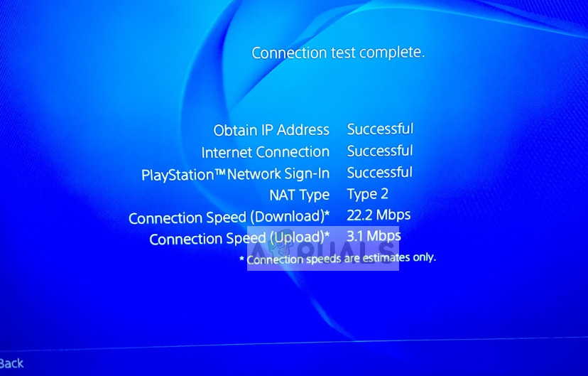 PS4-Verbindungstest