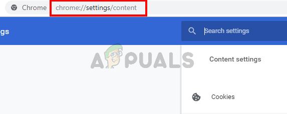 Google Chrome-Inhaltseinstellungen