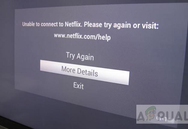 Netflix Error UI-122