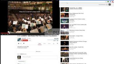 YouTube full screen issue