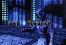 Skyrim Spell Research