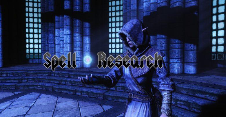 Skyrim Spell Research