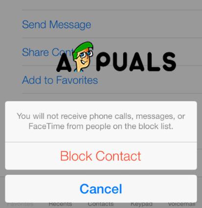 Block Contact