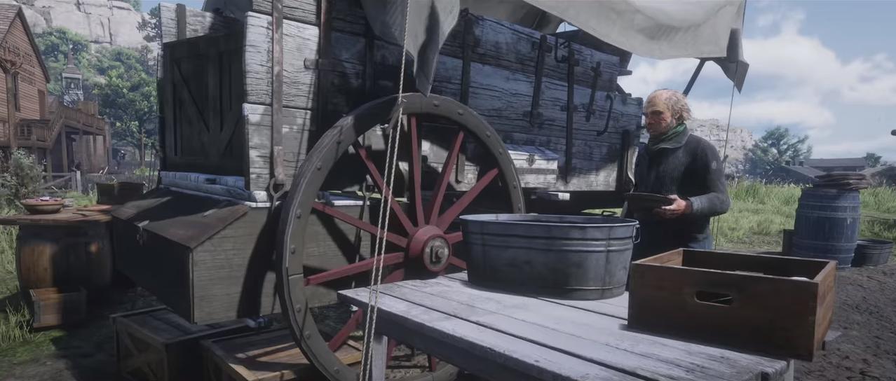 Red Dead Redemption 2 NPC