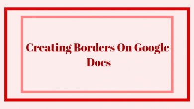 Photo of How to Create Borders on Google Docs