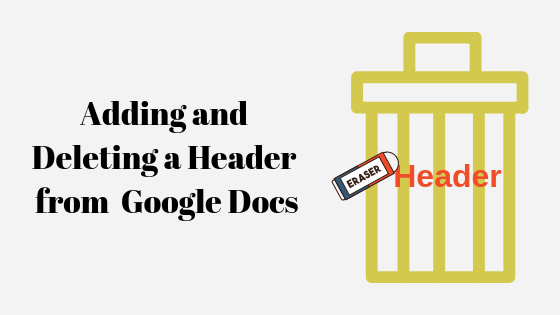 How To Add And Delete A Header In Google Docs Appuals Com Learn how to delete a blank page in google docs in 1 minute. delete a header in google docs