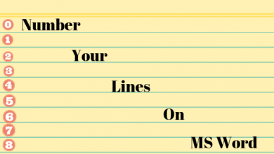 Photo of How to Number Your Lines in a Word Document?