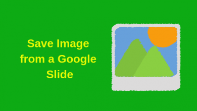 Photo of How to Save an Image from Google Slides