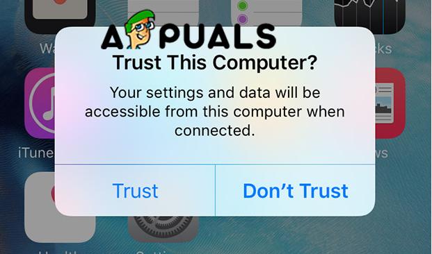 Trust this computer