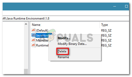 Deleting the Registry entry with a non-corresponding installation path