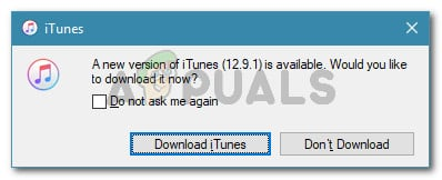 Downloading latest version of iTunes